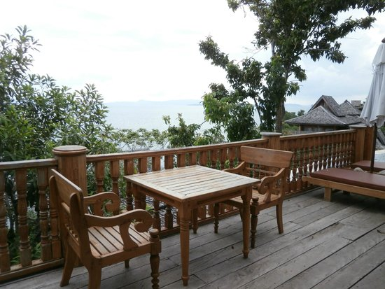Santhiya Koh Yao Yai Resort & Spa : Villa Deck