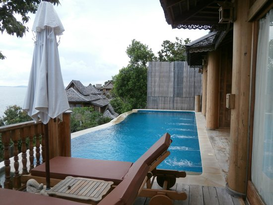 Santhiya Koh Yao Yai Resort & Spa : Villa Pool