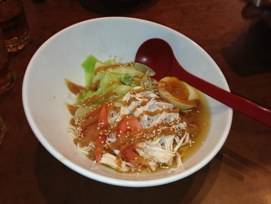 Ganbaranba: Cold noodles