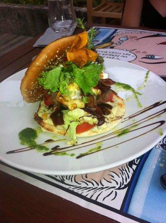 La Boite a Delices : Burger maison