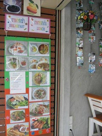 Homestyle Hua Hin: Front menu photo