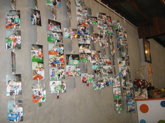 Homestyle Hua Hin: Customer photo on the wall