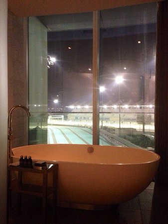 Yas Viceroy Abu Dhabi: A bath with a view!