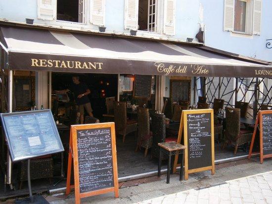 Cafe Del Arte: Aspetto esterno