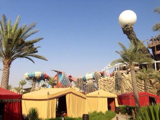 Yas Waterworld Abu Dhabi: Cabanas