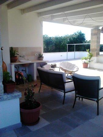 Agriturismo Masciarella: zona relax