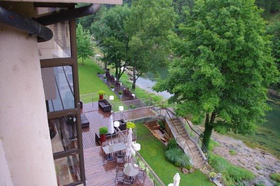 Hotel de la Muse et du Rozier: The view from my room