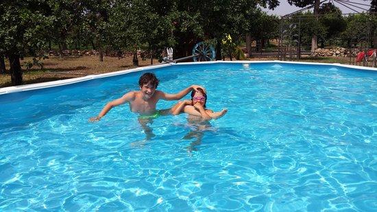 Torre vendicari: La piscina