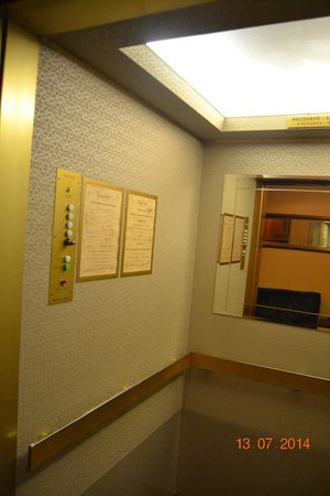 Hotel Kaiserhof: Ascensor