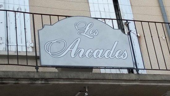 """Restaurant """"Les Arcades"""" à Nyons (Drôme Provençale)"""