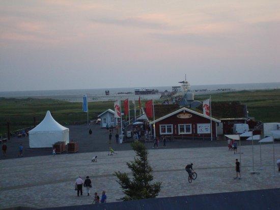 ambassador hotel & spa: Blick auf die Nordsee