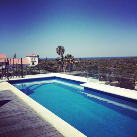 Guaycura Boutique Hotel Beach Club & Spa: Beautiful pool with an amazing view..