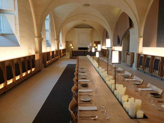 Fontevraud L'Hotel: table d'hôtes