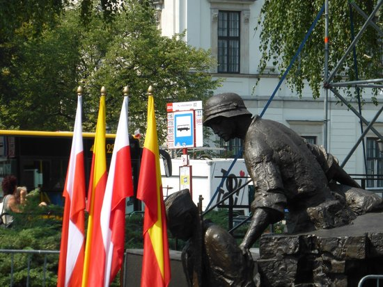 Monument to the Warsaw Uprising Fighters: Warsaw Uprising Monument