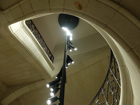 Fontevraud L'Hotel: escalier