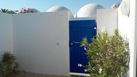 Club Marmara Zahra : La petite terrasse de notre bungalow