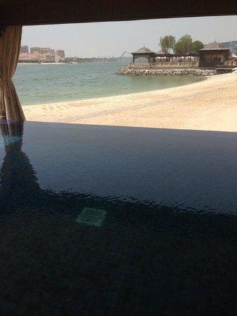 Shangri-La Hotel, Qaryat Al Beri, Abu Dhabi: View from villa