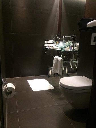 Hotel Riverton: Toilet