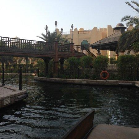 Shangri-La Hotel, Qaryat Al Beri, Abu Dhabi: Abra canal