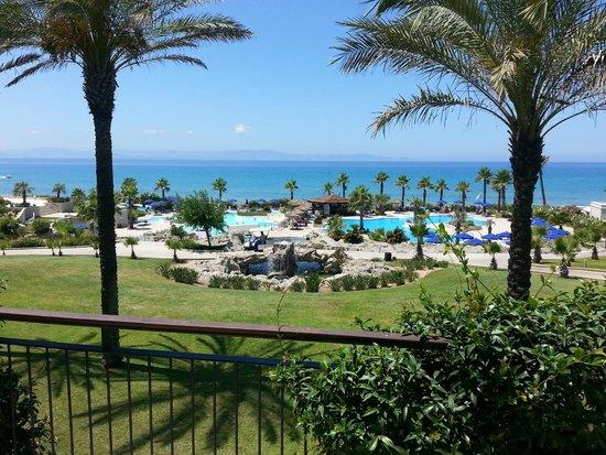 Grecotel Olympia Oasis: Czy to nie piękny widok z balkonu naszego pokoju ???