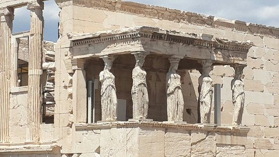 Erechtheion: Columnas del Erectheion