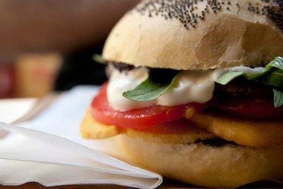 Cento3cento Veg: Super panino veg a Bologna!