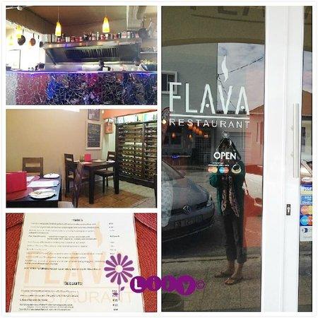 Flava Restaurant: Menu