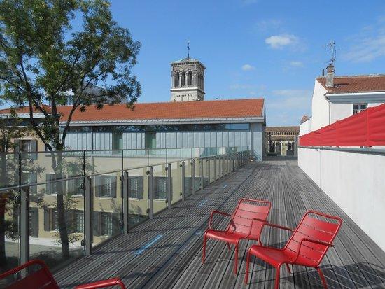 Musée de Valence, Art & Archéologie : Vue du Belvédère.