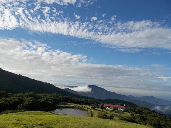 Kyukamura Azumayama-Lodge : 天然芝の草原