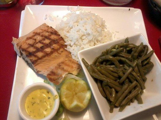 Buffalo Grill : pavé de saumon