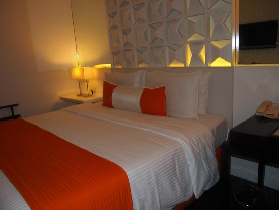 The Bayleaf Intramuros: Comfy bed