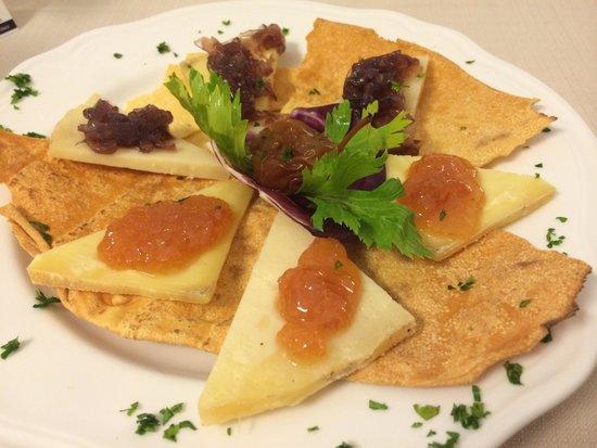 Al Fondaco del Conte : Assortiment de fromages Italien