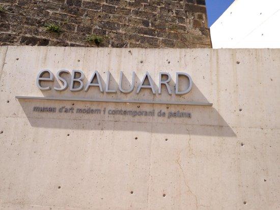 Museum Es Baluard : Entrance