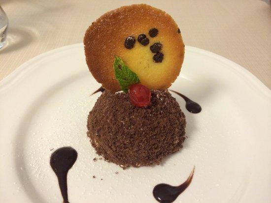 Al Fondaco Del Conte : Truffe glacée chocolat café