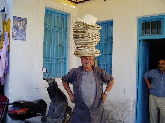 Medina of Hammamet : Hat på Hat