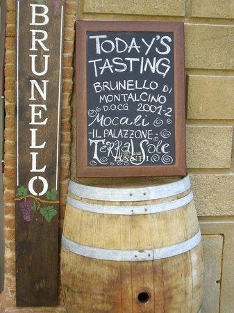 Il Barlanzone: enoteca degustazioni brunello