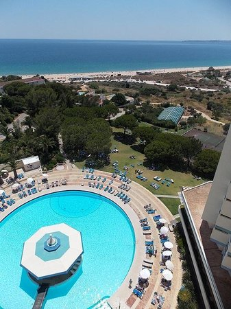 Pestana Delfim Hotel: view from 12th floor