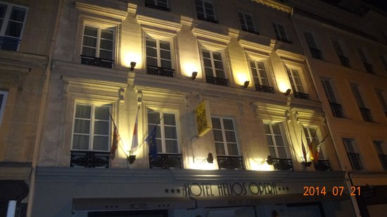 Emeraude Hotel Hélios Opéra : fachada do Hotel