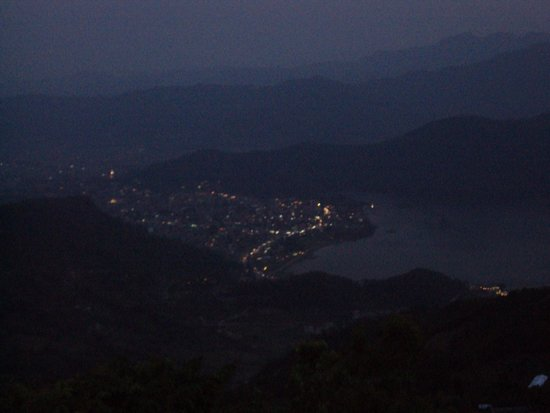 Sarangkot: The town from the view point