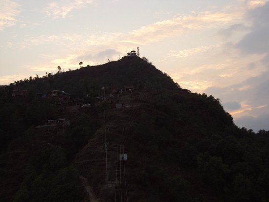 Sarangkot: Sun setting