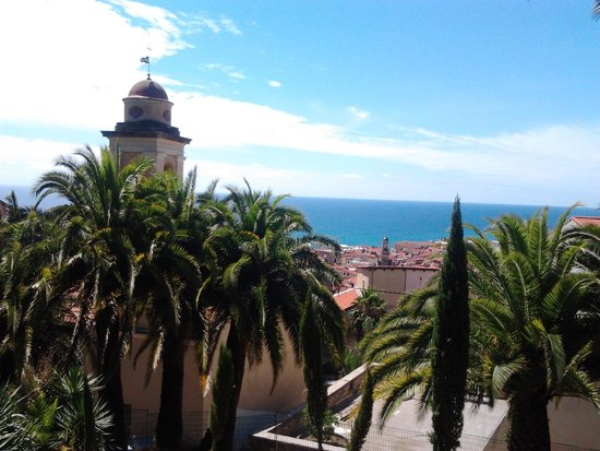 La Pigna : view from the top