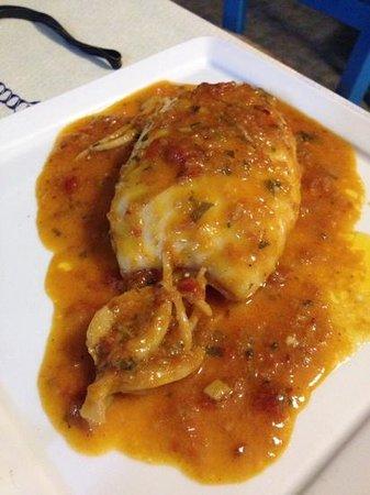 Antonis Restaurant: calamaro ripieno