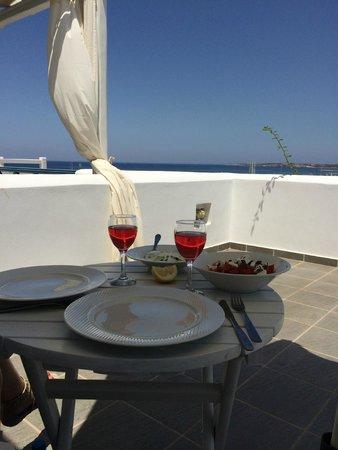 Alexandros Studio Apartments: Enjoy the dinner