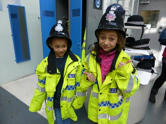 Greater Manchester Police Museum: Dress up