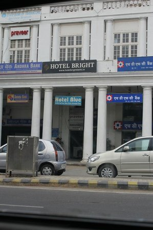 Hotel Bright Sign