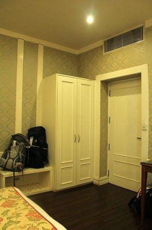 Hotel Bright: Wardrobe and Door