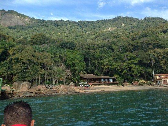 Estrela da Ilha: The Pousada- view from the boat as you enter the docking area