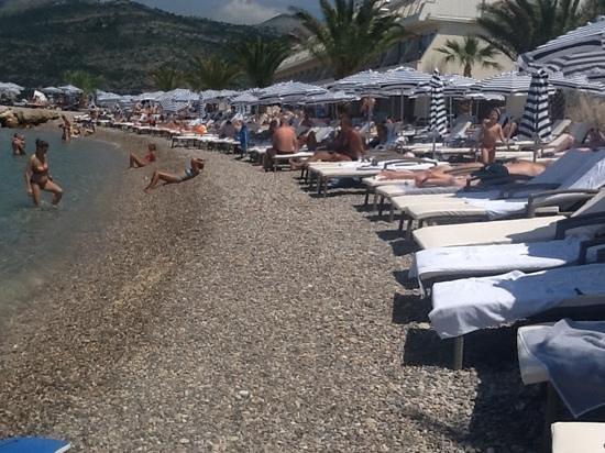 Valamar Dubrovnik President Hotel: the beach