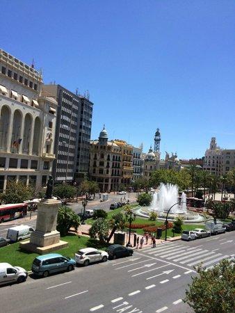 Melia Plaza: old valencia