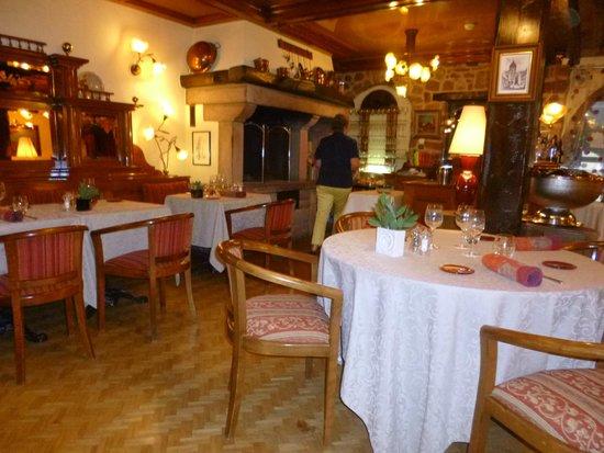 Restaurant Le Sarment d'Or : L'intérieur